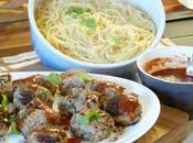 Miam Boulettes anti-Gaspi spaghettis