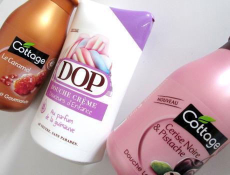 gels douches cottage et dop