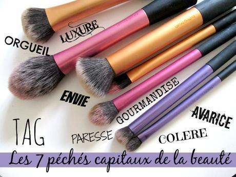 7 Péchés capitaux de la beauté tag