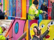 premiers peintres Berlin réalisent fresque Paris