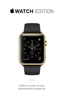 L'Apple Watch Edition