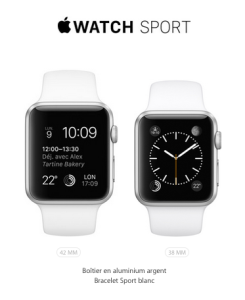 L'Apple Watch Sport