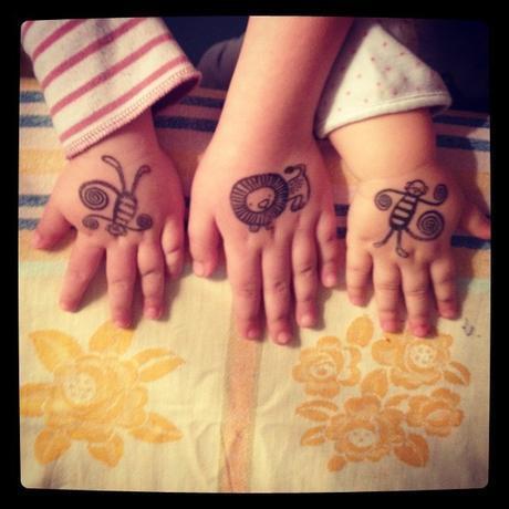 Des tatoos pour les kids et les autres #lundisàdeuxdaliceetzaza