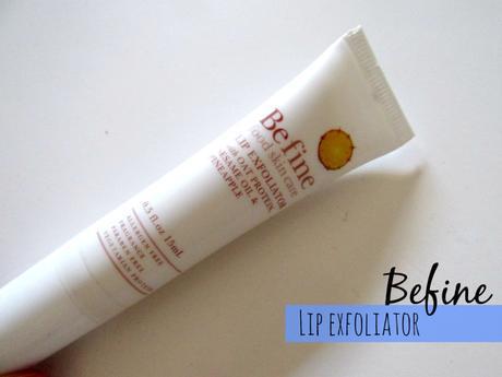 Befine lip exfoliator