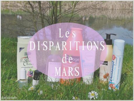 ✞ Les disparitions de Mars 2015 ✞