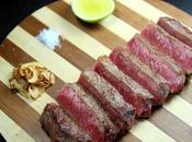 Entrecôte boeuf d'Argentine servi façon Japonaise
