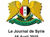 VIDÉO.. Journal Syrie 16/04/2015. Malgré soutien terroristes, l'armée syrienne avance.