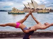 postures Yoga dans plus beaux endroits monde