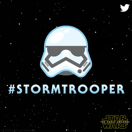 Star Wars emoji stormtrooper