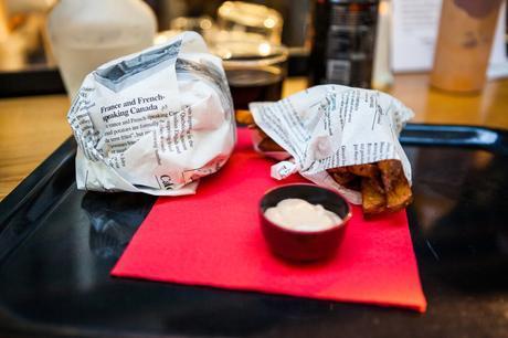 burger papier journal