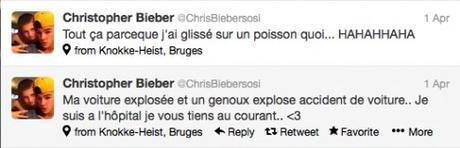 Chris Bieber Tweet