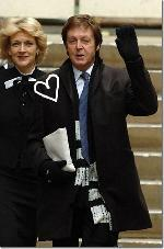 Sir Paul McCartney and girlfriend Nancy Shevell picture[3]