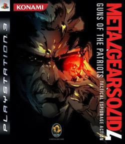 Metal Gear Solid 4 : Guns of the Patriots sur Playstation 3