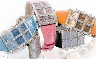 6Timezone Bikini : la montre estivale d'Icelink