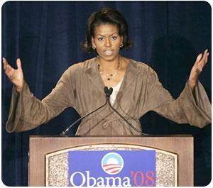 Michelle Obama, le talon d'Achille ?