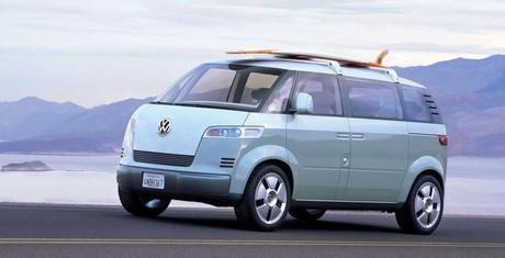 Le concept de Microbus par Volkswagen en 2001.