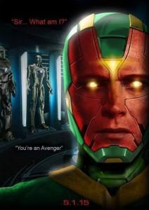 Vision - Paul Bettany - Marvel