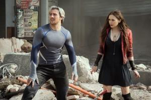 Quicksilver et Scarlett Witch - Aaron Taylor-Johnson et Elizabeth Olsen - Marvel