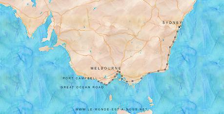 Melbourne sydney road trip start