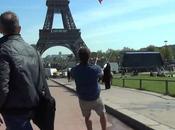 Session kitesurf pied terre Eiffel