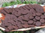 P'tits beurre chocolatés (sans oeuf)