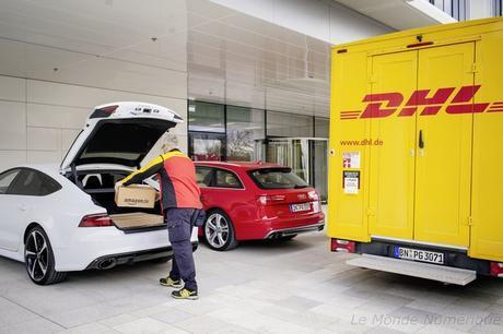 Audi, DHL et Amazon ensemble pour faciliter les livraisons d'achats en ligne