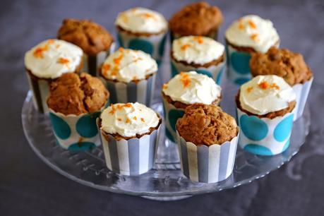 Carrot cake muffin (recette de Julie Andrieu )