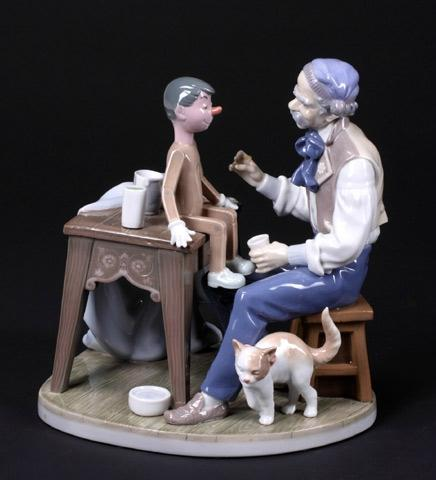LLADRO-FIGURAL-GROUP-GEPETT