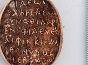 ancienne amulette avec étrange palindrome découverte Chypre