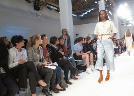 defilé Anna Bornhold Festival de Mode Hyères 2015