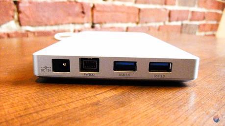 Akitio Thunder Dock: station Thunderbolt pour le nouveau MacBook