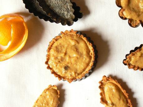 Tartelette ss sucre orange curd
