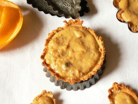 Tartelette ss sucre orange curd1