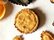 Tartelette sans sucre gluten l'orange