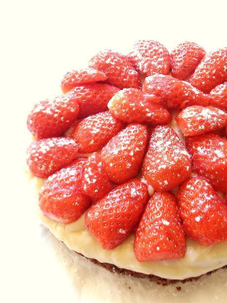 tarte aux fraises facile2