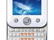 Téléphone portable Duelle E580 design féminin