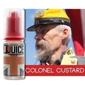 test eliquide colonel custard de t-juice