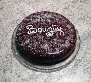 Gâteau «Bounty» chocolat et noix de coco