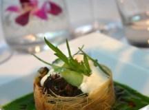 Fricassée d'escargots aux champignons eringy