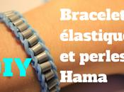 comment faire bracelet avec élastiques (rainbow loom) perles Hama?