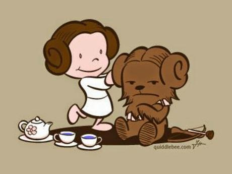 May the 4th be with you... Ou comment organiser à l'improviste un #StarWarsDay mère-fille Princess Leia Tea Party