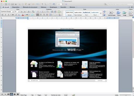 Office 2016 pour Mac: comment l'installer