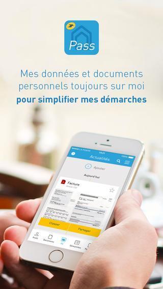 Digiposte Pass sur iPhone pour conserver tous ses documents dans un coffre-fort numérique