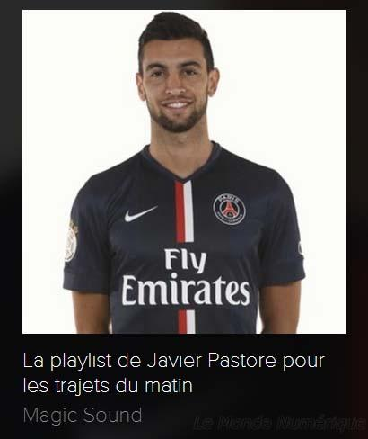 Magic Sound, la plateforme musicale du Paris Saint Germain avec Spotify