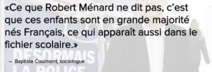 Ménard, ce salopard, va-t-il aussi rétablir le port obligatoire de l'étoile jaune à Béziers ?