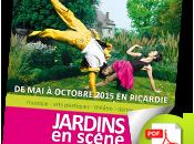 """octobre, tous """"Jardin scène"""" Picardie"""