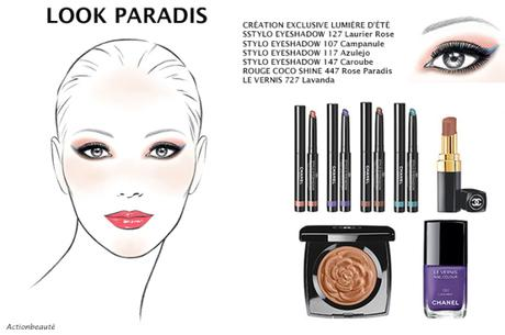 chanel look paradis