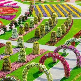 En promenade : Miracle garden, Dubaï
