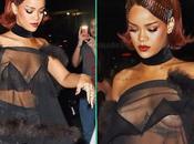 Rihanna seins soirée Ball