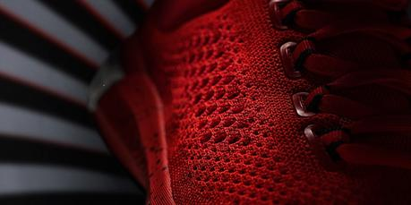 adidas-crazylight-boost-primeknit rouge dessus